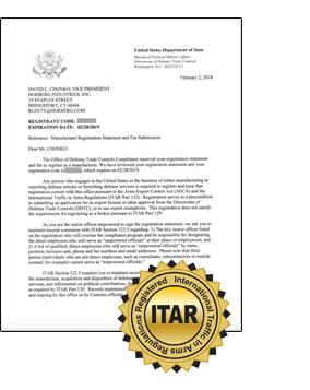 ITAR Letter